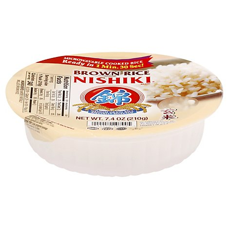 Nishiki Rice Brown Premium Whole Grain - 7.4 Oz