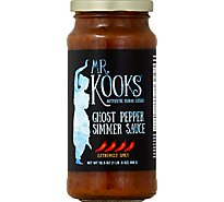 Mr Kooks Ghost Pepper Curry Sauce - 16.5 Oz