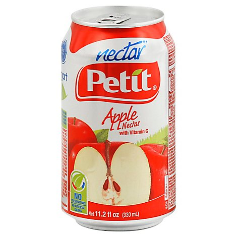 Petit Nectar With Vitamin C Apple Can - 11.2 Fl. Oz