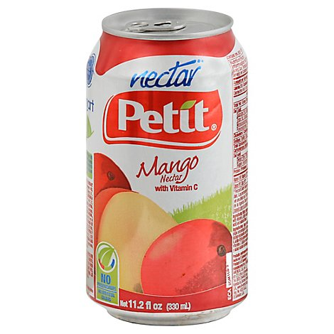 Petit Nectar With Vitamin C Mango Can - 11.2 Fl. Oz.