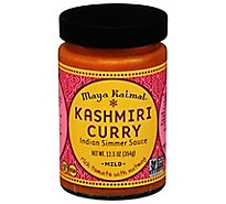 Maya Kaimal All Natural Kashmiri Curry Mild Indian Simmer Sauce - 12.5 Oz