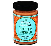 Maya Kaimal All Natural Butter Masala Medium Indian Simmer Sauce - 12.5 Oz