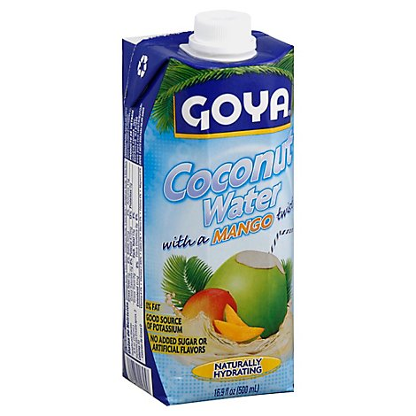 Goya Coconut Water With A Mango Twist Brick - 16.9 Fl. Oz.