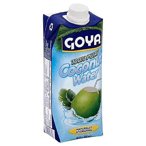 Goya Coconut Water 100% Pure Brick - 16.9 Fl. Oz.