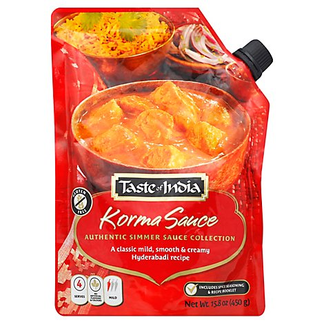 Taste Of India Korma Sauce - 15.87 Oz