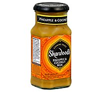 Sharwoods Pineapple Coconut Cooking Sauce - 14.1 Oz