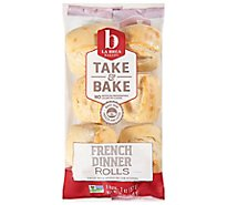 La Brea Bakery Take & Bake Bread Rolls French Dinner - 6-2 Oz