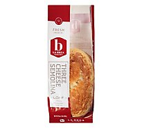 La Brea Bakery Bread Loaf Three Cheese Semolina - 16 Oz