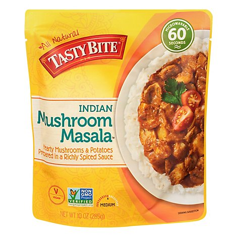 Tasty Bite Heat And Eat Mshroom Takatak - 10 Oz