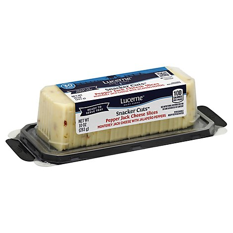 Lucerne Cheese Tray Pepper Jack - 10 Oz