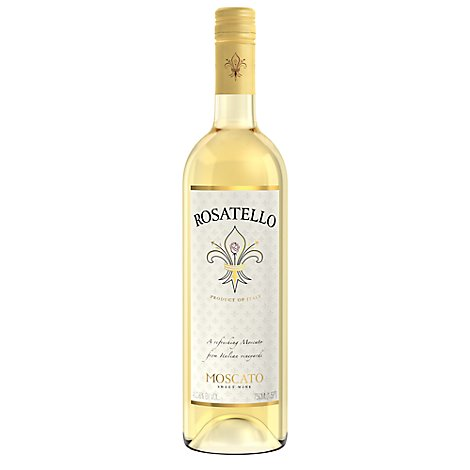 Rosatello Sweet Wine White IGT Moscato Italian - 750 Ml