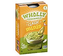 Wholly Guacamole Classic Mini Snack Pack - 4-2 Oz