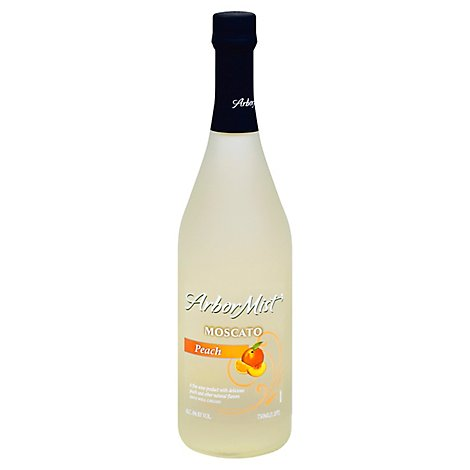 Arbor Mist Wine Fruit Peach Moscato - 750 Ml
