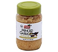 Badia Garlic Minced in Olive Oil - 8 Oz