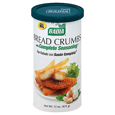 Badia Bread Crumbs with Complete Seasoning - 15 Oz
