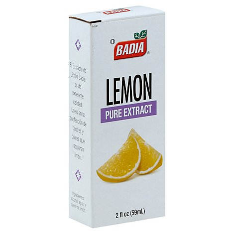 Badia Extract Pure Lemon - 2 Oz