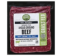Open Nature Beef Ground Beef 93% Lean 7% Fat - 16 Oz