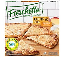 Freschetta Pizza Gluten Free 4 Cheese Medley Frozen - 17.5 Oz