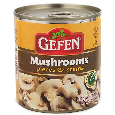 Gefen Mushrooms Pieces And Stems - 7 Oz