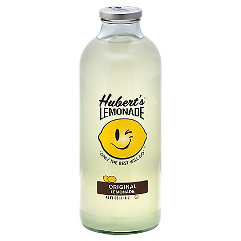Huberts Lemonade Original - 40 Fl. Oz.