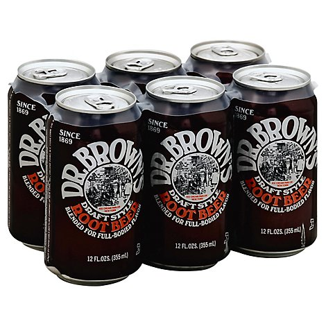 Dr Brown Soda Root Beer - 72 Fl. Oz.