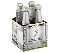 Barefoot Bubbly Brut Champagne Sparkling Wine -4-187 Ml
