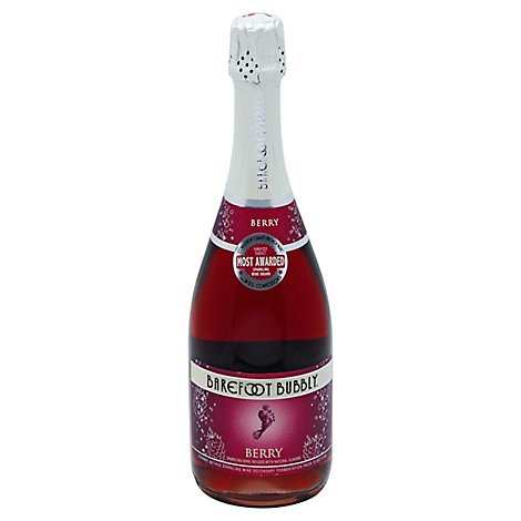 Barefoot Bubbly Berry Sparkling Sparkling Wine - 750 Ml