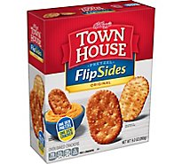 Keebler Town House Pretzel FlipSides Thins Snack Crackers Original - 9.2 Oz