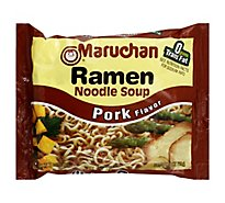 Maruchan Ramen Noodle Soup Chicken Pork - 3 Oz