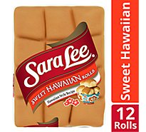 Sara Lee Rolls Sweet Hawaiian - 12 Count