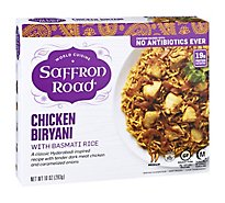 Saffron Road Frozen Entree Halal Chicken Biryani Medium Heat - 10 Oz