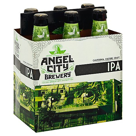 Angel City Beer IPA Bottles - 6-12 Fl. Oz.