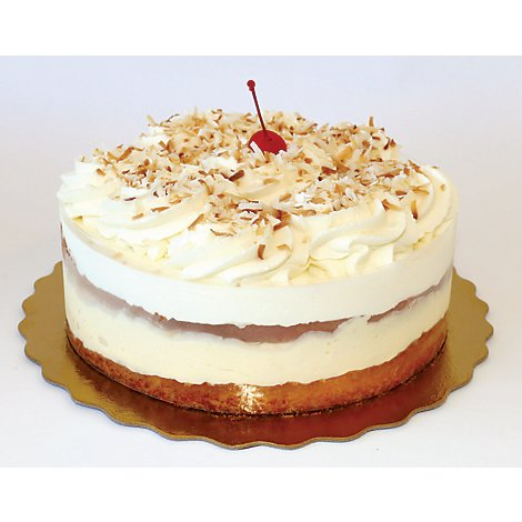 Bakery Cake Boston Cream Coconut - Each
