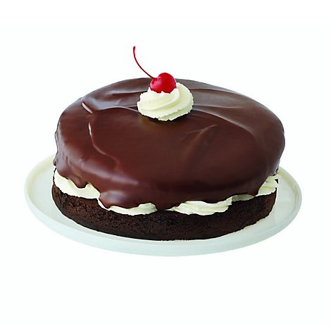 Bakery Cake 8 Inch 1 Layer Devil Dog Split - Each