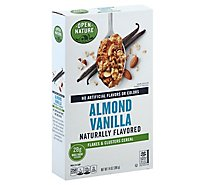 Open Nature Cereal Vanilla Almond Flakes & Clusters - 14 Oz