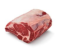 Meat Counter Beef USDA Prime Ribeye Roast Bone In - 3 Lb