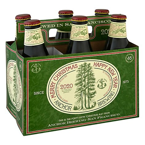 Anchor Beers Ale Christmas Bottles - 6-12 Fl. Oz.