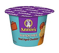 Annies Homegrown Macaroni & Cheese Gluten Free Rice Pasta & Cheddar Cup - 2.01 Oz
