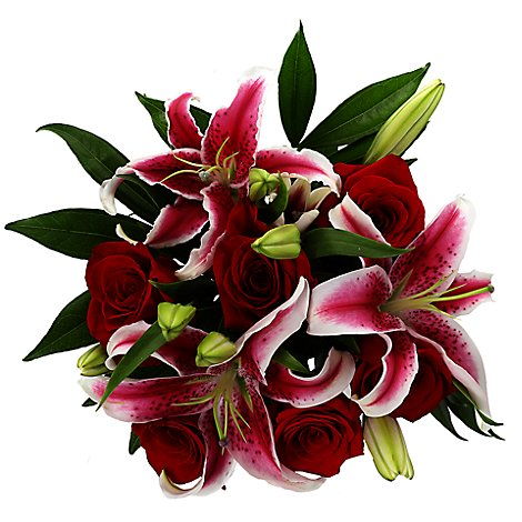 Debi Lilly Rose Fragrant Bouquet - Each