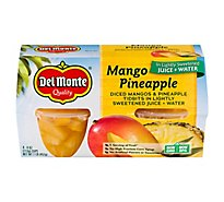 Del Monte Mango Pineapple in Light Syrup Cups - 4-4 Oz
