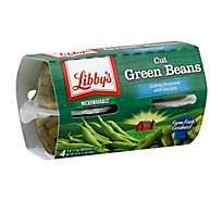 Libbys Beans Green Cut - 4-4 Oz