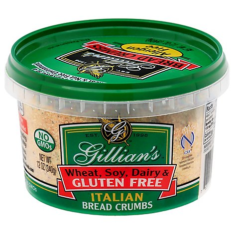 Gillians Italian Bread Crumbs Miette De Plain - 12 Oz