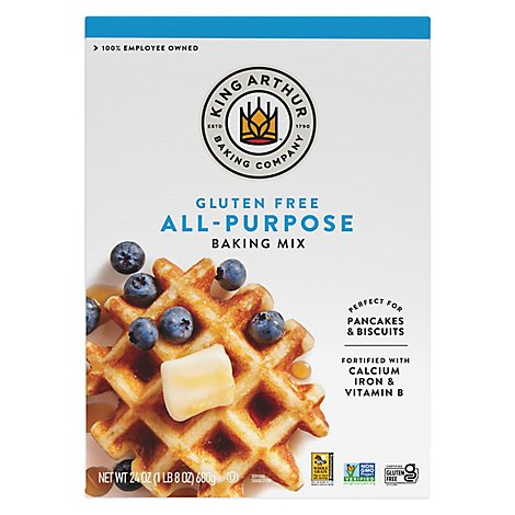 King Arthur Flour Mix Baking Gluten Free All Purpose - 24 Oz