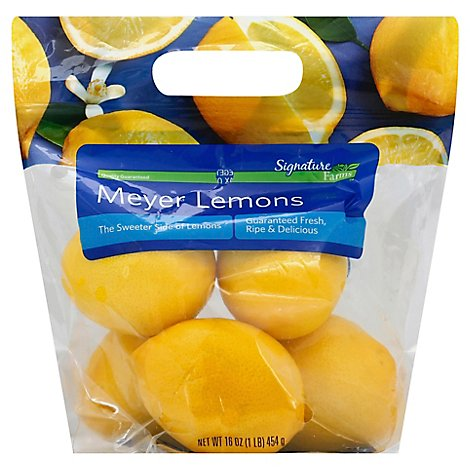 Signature Farms Lemons Meyer - 16 Oz