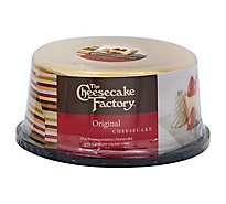 Cheesecake Factory Cake Cheesecake Plain - Each