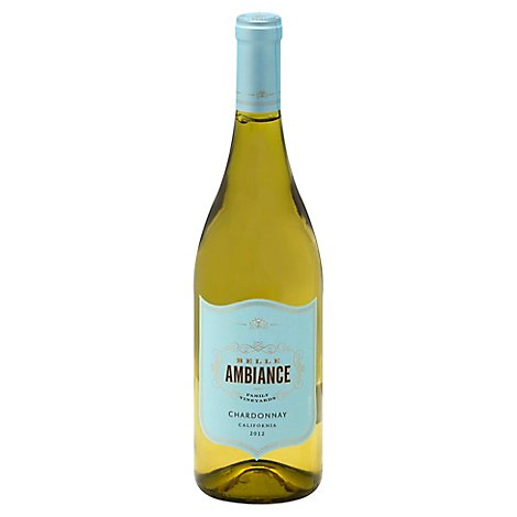 Belle Ambiance Wine Chardonnay California - 750 Ml