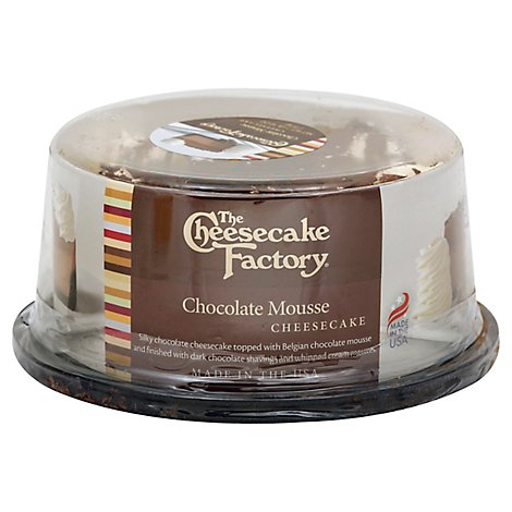 Cheesecake Factory Cake Cheesecake Chocolate - Each