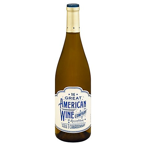 Great American Co. Chardonnay Wine - 750 Ml