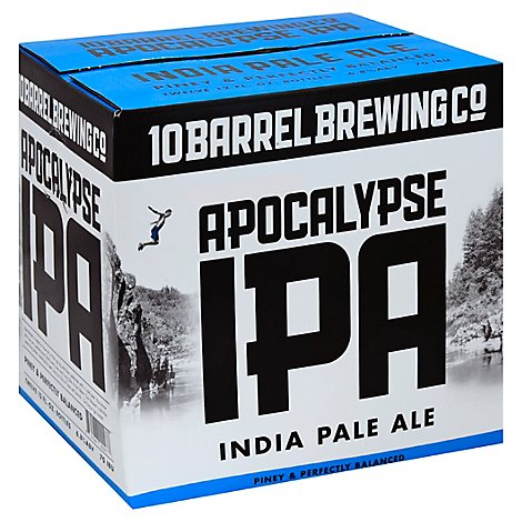 10 Barrel Brewing Beer Apocalypse IPA Bottles - 12-12 Fl. Oz.