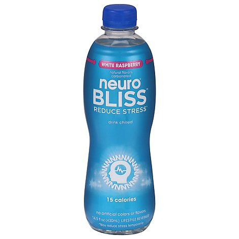 neuro BLISS Lifestyle Beverage Reduce Stress White Raspberry - 14.5 Fl. Oz.